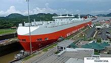Barco carguero Panamax