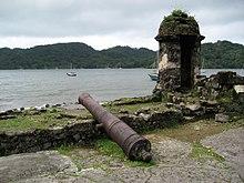 Fortificaciones de la costa caribe de Panamá