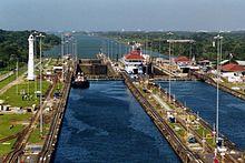 Esclusas del Canal de Panamá.